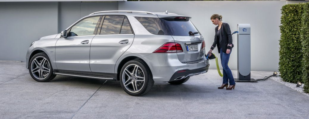 2016 Mercedes-Benz GLE550e Electric Range and Charge Time