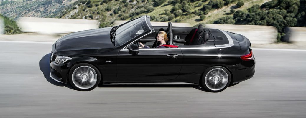 2017 Mercedes-Benz C-Class Cabriolet Sneak Peak