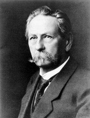Carl Benz Inventor of the Automobile Portrait