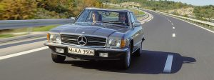 1971-1981 R107 Mercedes-Benz SLC Coupe History
