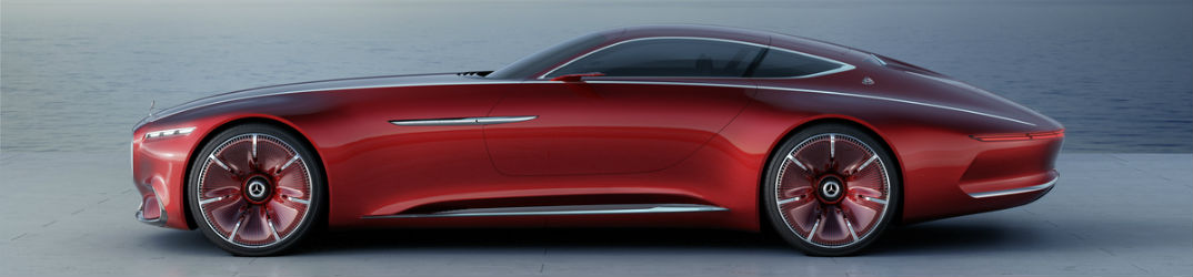 Vision Mercedes-Maybach 6 Electric Range