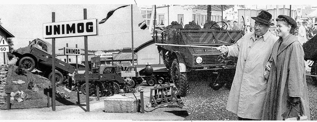 What Is A Mercedes-Benz Unimog?