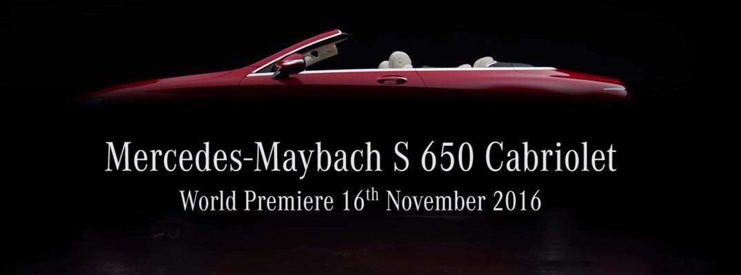 Free Live Stream Of New Mercedes-Maybach S-Class Convertible Launch