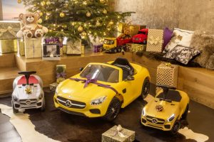 Children's Mercedes-Benz Christmas Presents