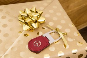 Christmas Key Chain From Mercedes-Benz
