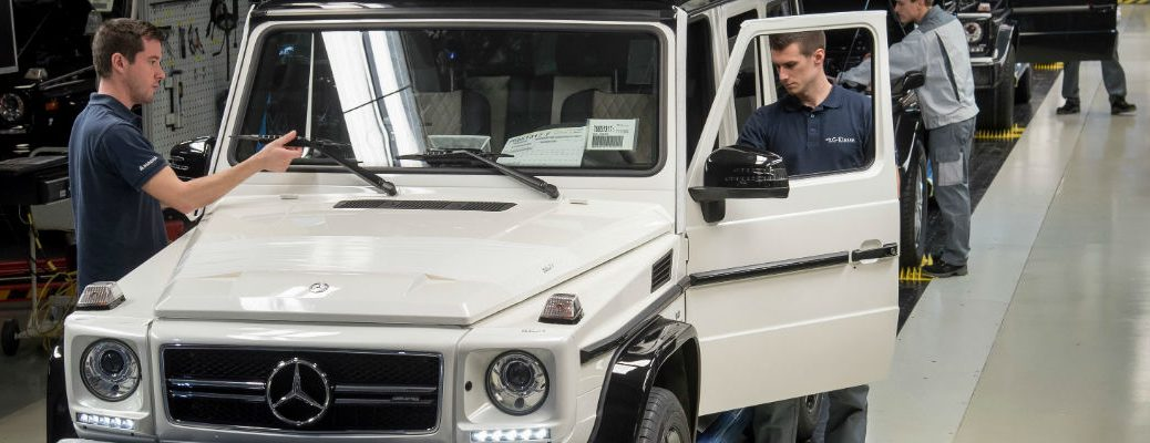 Where Is The Mercedes-Benz G-Class Made?
