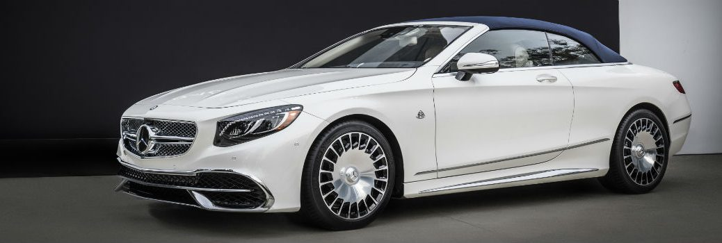 First look at the Mercedes-Benz Maybach S650 Cabriolet reveal