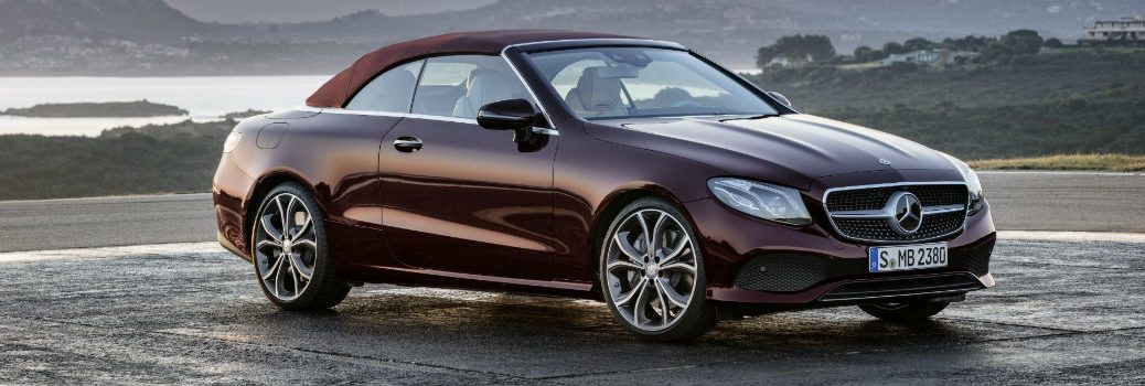 When will the E-Class Cabriolet be available?