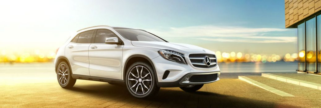 What is the ground clearance of the Mercedes-Benz GLA?