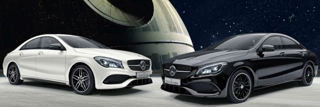 Mercedes-Benz CLA Star Wars-themed