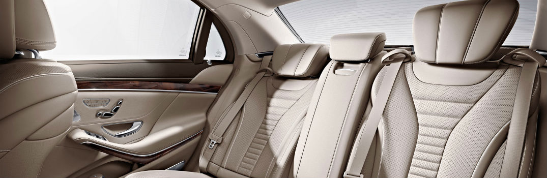 Does the Mercedes-Benz S-Class have rear seat entertainment?