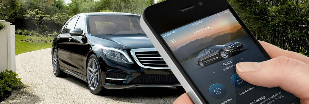 Which Mercedes-Benz vehicles come standard with remote start?