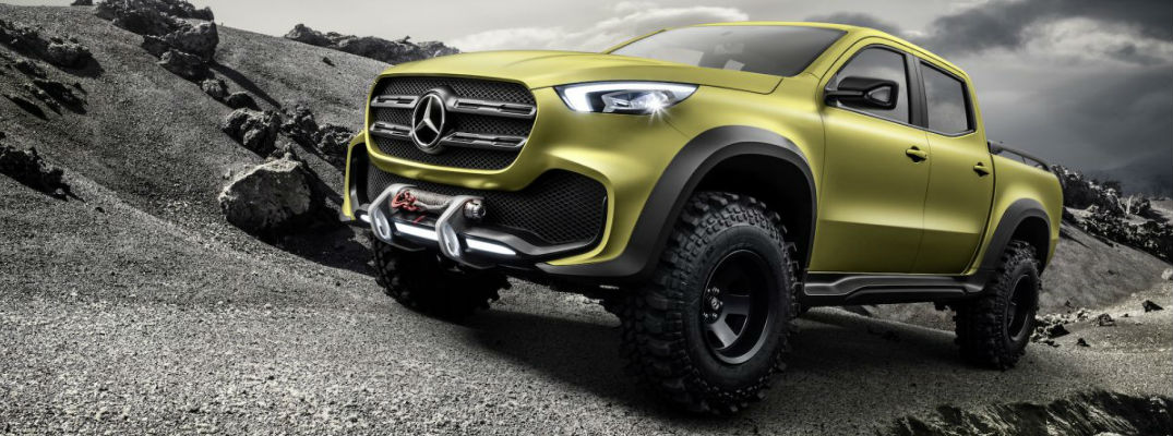 VIDEO: Check out the teaser for the first-ever Mercedes-Benz pickup truck!