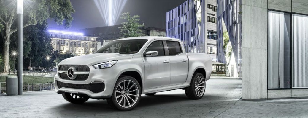 Mercedes-Benz X-Class in White