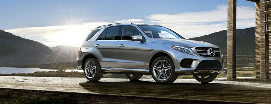 2017 GLE in Silver