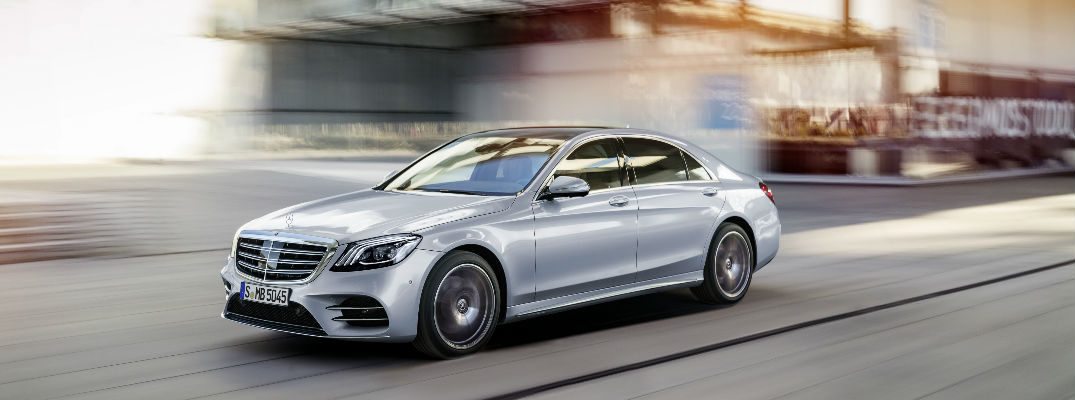 What Intelligent Drive features are available on the 2018 S-Class Sedan?