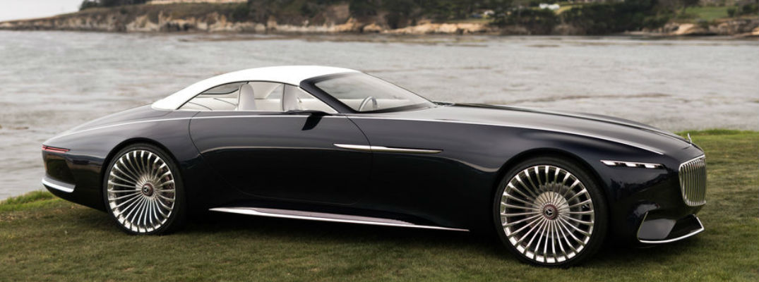Vision Mercedes-Maybach makes appearance at Monterey Car Week 2017