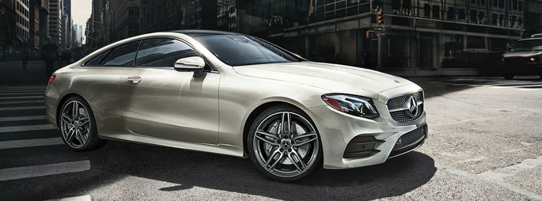 Does the 2018 E 400 4MATIC Coupe have any driver-assistance systems?
