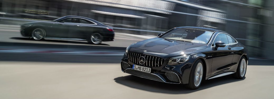 2018 AMG S-Class Coupe in Black Side View