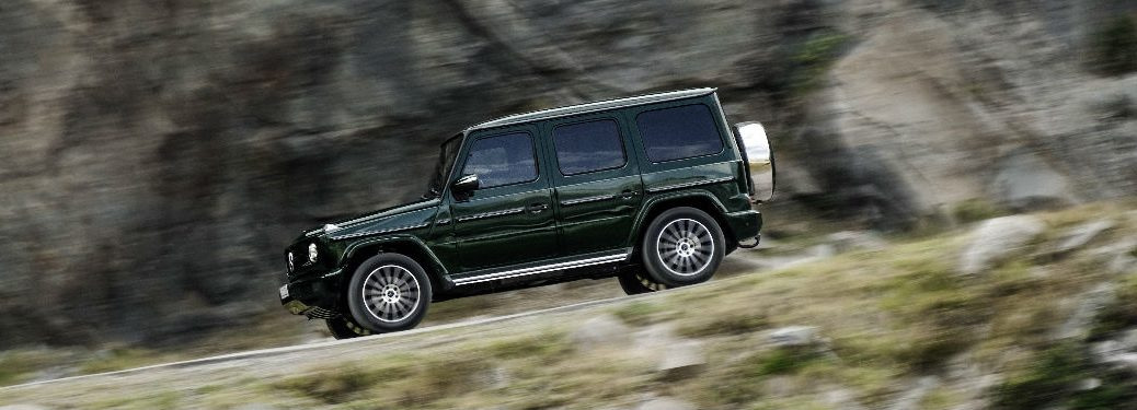 2019 G-Class in Green Side View