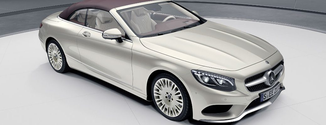 2019 Mercedes Benz S Class Coupe And Cabriolet Exclusive