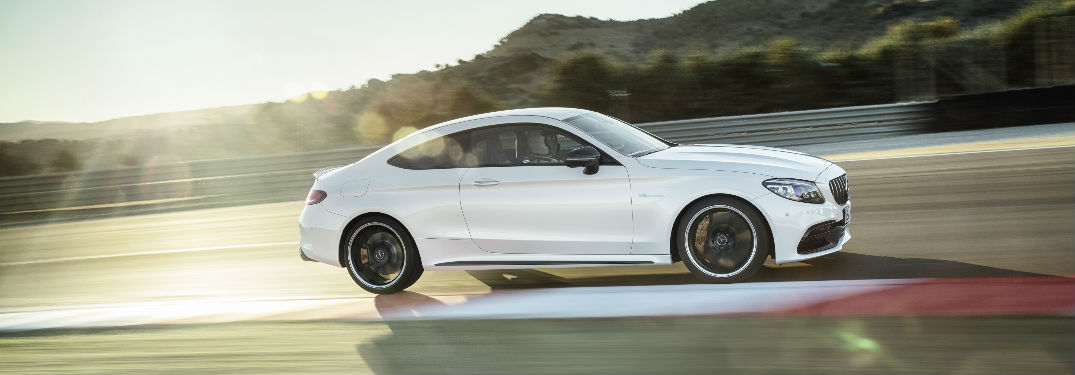 What does the new 2019 Mercedes-AMG® C 63 S Coupe look like?