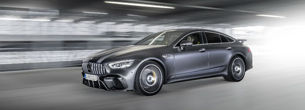 2019 AMG GT Coupe Edition 1 in Silver Side View