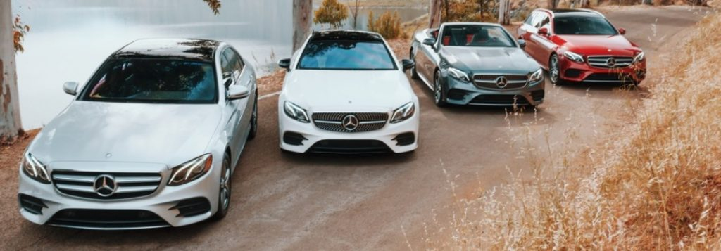 fleet of new 2019 mercedes-benz e-class models
