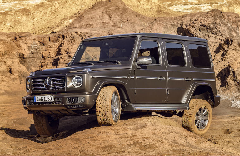 2019 G-Class Off Road Side View