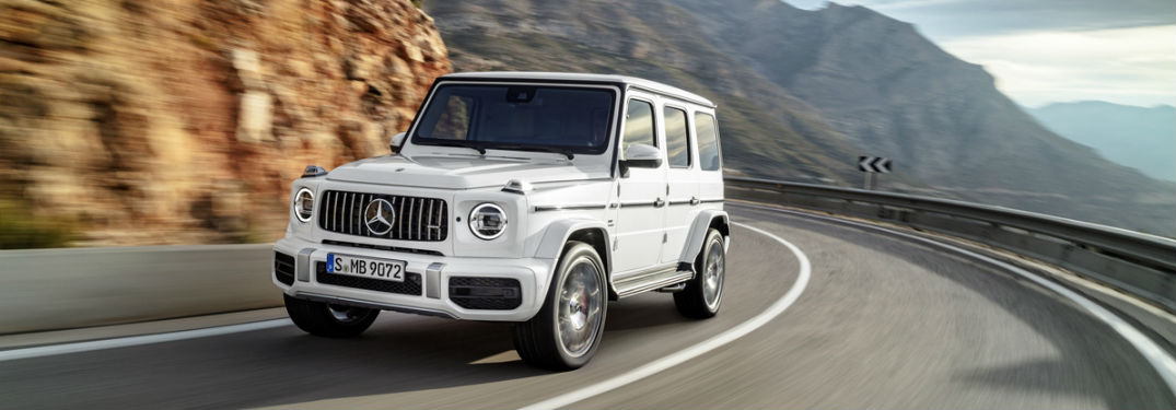 What's new on the Mercedes-AMG® G-Class?