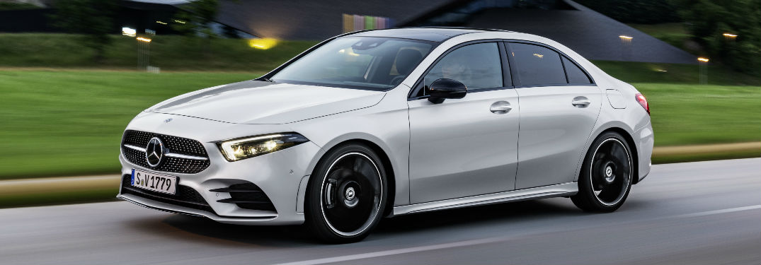 Which driver-assists are offered on the new A-Class Sedan?