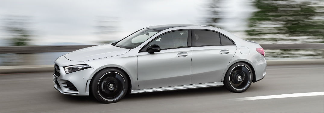 What Is A Sedan >> What Is Mbux On The 2019 Mercedes Benz A Class Sedan