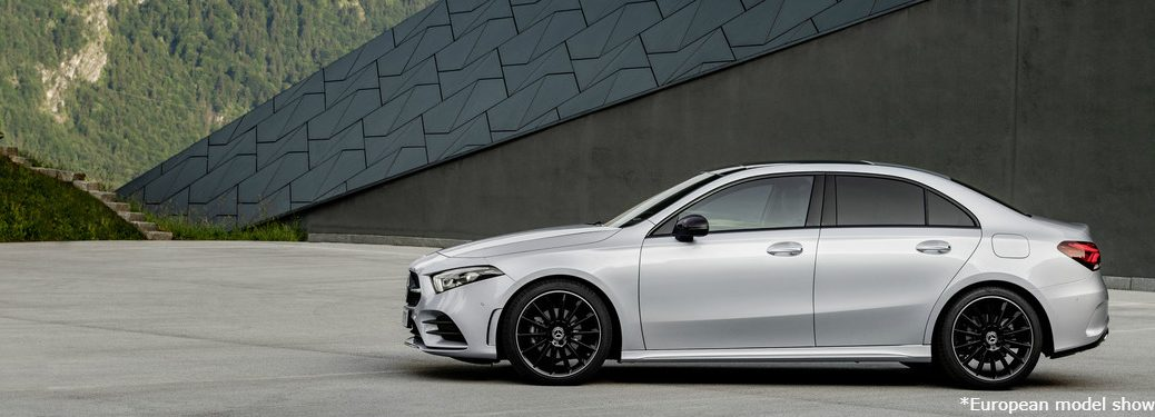 2019 Mercedes-Benz A-Class Sedan European model exterior side