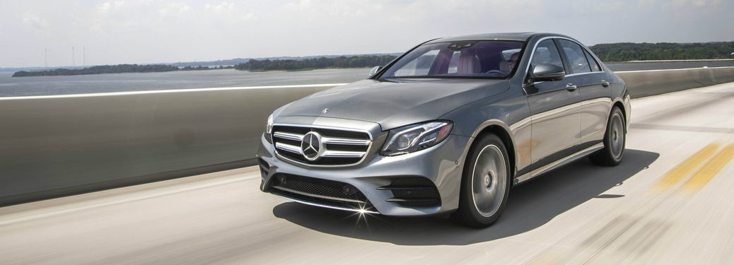 2019 Mercedes-Benz E450 4MATIC Sedan on highway