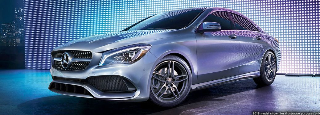 2019 MB CLA exterior front fascia and drivers side