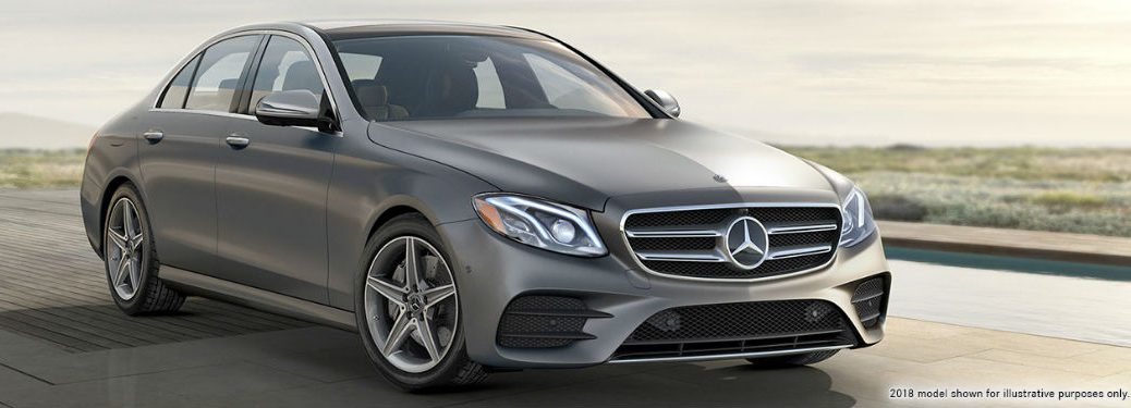 2019 MB E-Class exterior front fascia and passenger side