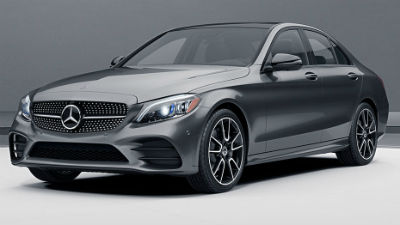 2019 MB C-Class sedan exterior front fascia and drivers side