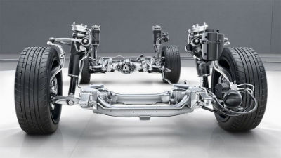 2019 MB S-Class suspension system