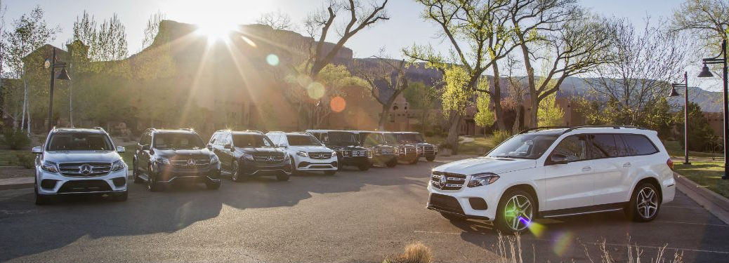 2017 GLS and 2016 Mercedes-Benz models