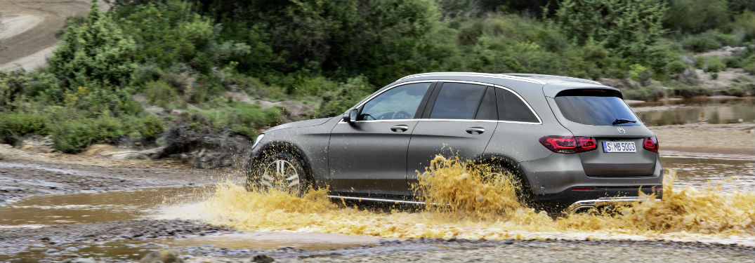 What are the upgrades of the 2020 Mercedes-Benz GLC SUV