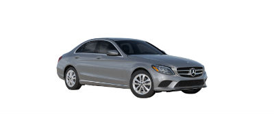 2019 MB C-Class front fascia and drivers side Iridium Silver Metallic