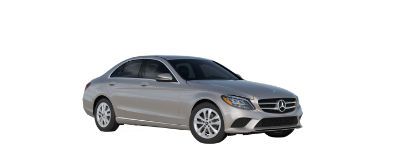 2019 MB C-Class front fascia and drivers side Mojave Silver Metallic