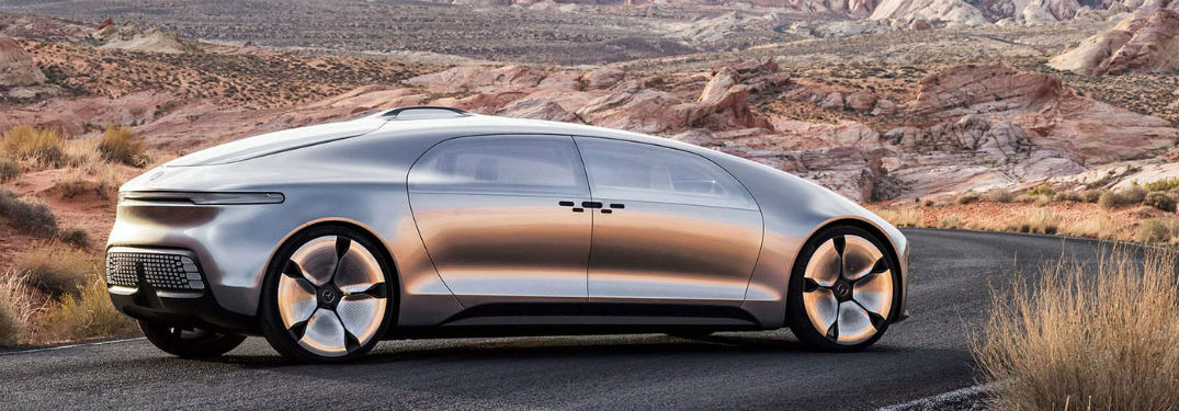 Concept car Mercedes-Benz F 015 video & photos