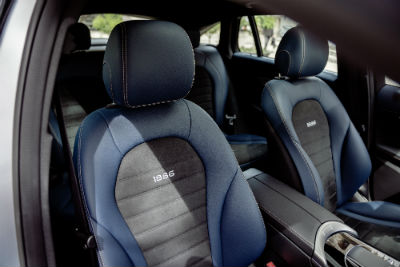 2020 MB EQC 1886 interior front seats