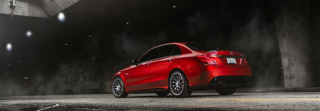 2019 Mercedes-Benz AMG® C-Class trim comparison