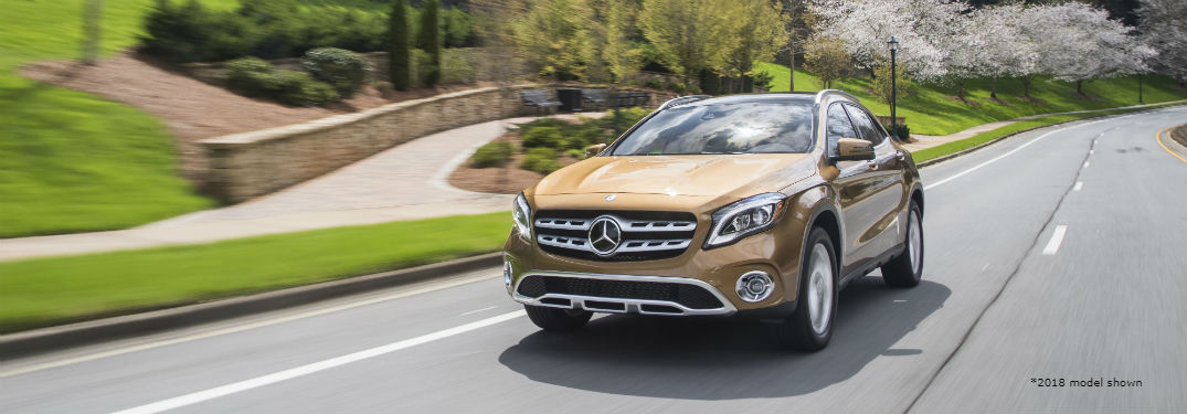 When will the 2020 Mercedes-Benz GLA be released?