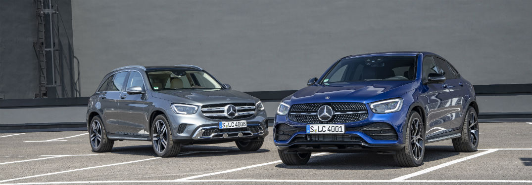 What are the optional features of the 2020 Mercedes-Benz GLC?