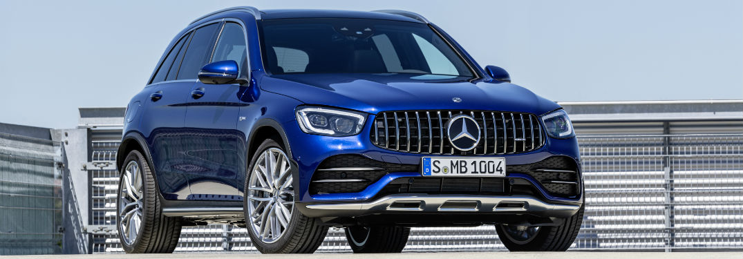 How fast is the 2020 Mercedes-AMG® GLC 43 SUV and Coupe?