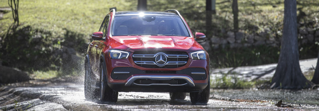 What are the 2020 Mercedes-Benz GLE color options?