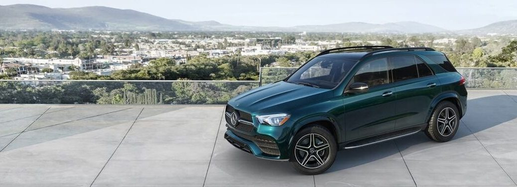 2020 Mercedes-Benz GLE SUV exterior front side